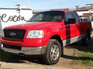 2005 FORD F150 4X4 EXT CAB 253KMS $4995 MIDCITY 1831 SASK AVE