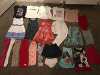 Girls bundle 4-5 (24 items) Next, M&S, Zara, Mayoral, Gap. Dresses, trousers, tops