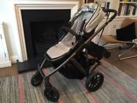 Uppababy Vista baby buggy with full range of accessories, £100