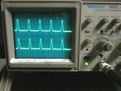 Analog Oscilloscope 50 Mhz Tektronix 2225 Refurb Calibrated Probes Included