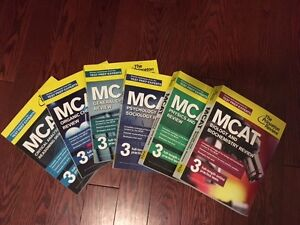 The Princeton Review books 2015 for MCAT