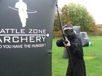 Parkinson's UK Battlezone Archery Event