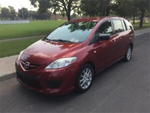 2008 MAZDA 5, AUTOMATIQUE , 6 PASSAGERS , 128.000 KM , 4 CYLINDR