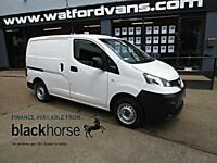 2013 Nissan NV200 SE 1.5 DCi 90ps E/Pack Twin SLD Diesel white Manual