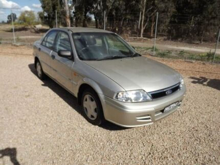 2002 Ford Laser KQ LXI Beige 4 Speed Automatic Sedan Yarrawonga Moira Area Preview