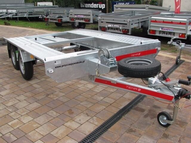 Brand new car transporter trailer Tema