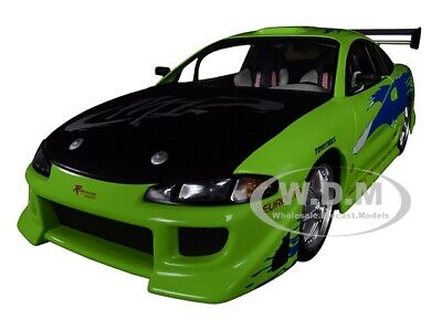 1995 MITSUBISHI ECLIPSE FAST & FURIOUS 2001 1/18 DIECAST CAR BY GREENLIGHT 19039