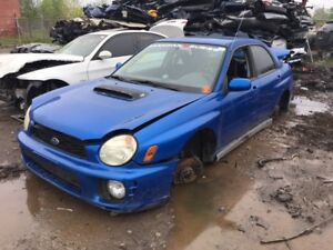 2002 Subaru Impreza Just In For Parts @ Pic N Save!!!