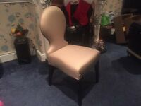 Beautiful Vanity Desk Chair Never Sat In & Came In Plastic Wrappers Shop Condition Was £299 Now £48
