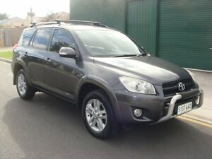 2008 Toyota RAV4 ACA33R MY09 Cruiser Grey 4 Speed Automatic Wagon Broadview Port Adelaide Area Preview