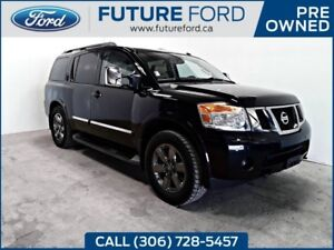 2014 Nissan Armada Platinum | FULL SIZE SUV | LEATHER | NAVIGATI