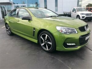2016 Holden Commodore VF II MY16 SV6 Black Green Sports Automatic Sedan Lansvale Liverpool Area Preview