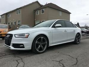 2014 Audi A4 Progressiv | S Line | Black Optic | Warranty |