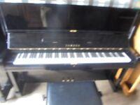 upright piano by yamaha top of the u1 range the U1 A