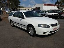 2008 Ford Falcon BF111 XT White 4 Speed Automatic Wagon Winnellie Darwin City Preview