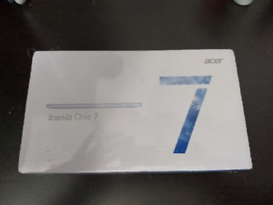 New In Box Acer Iconia One 7 Tablet