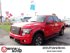 2011 Ford F-150 FX4 4x4 SuperCrew Cab 5.5 ft. box 145 in. WB