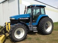 NEW HOLLAND 8870 FWD FOR TRADE