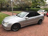 Mercedes CLK 1.8 Kompressor Elegance Convertible Semi Automatic £2995