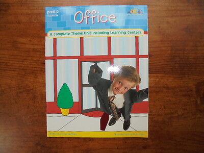 Theme Materials TLC Office Business Activities Classroom Book Grade PreK K 1 2](Preschool Classroom Themes)