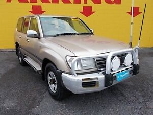 2004 Toyota Landcruiser UZJ100R GXL Gold 5 Speed Automatic Wagon Winnellie Darwin City Preview