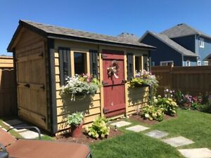 Pre-fab Sheds and Outbuilding Structures - Kawartha Shed Co.