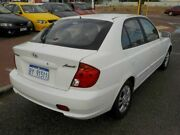 2004 Hyundai Accent LC MY04 GL White 4 Speed Automatic Hatchback Victoria Park Victoria Park Area Preview