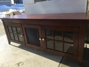 Newcastle Brown 60-inch Television Cabinet/Console. Open to offe