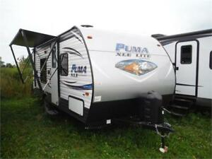 2018 Puma XLE 18FBC Ultra Lite Travel Trailer- Great for couples