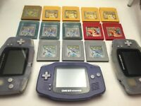 Pokemon Gameboy games and GBA systems for sale - All Saving