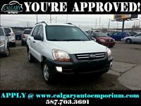 2008 Kia Sportage $99 DOWN EVERYONE APPROVED