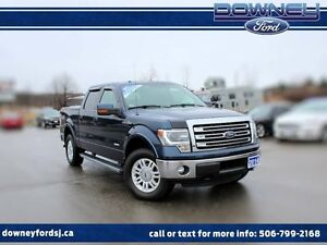 2014 Ford F-150 LARIAT LEATHER HTD SEATS BACKUP CAMERA SUPER CRE
