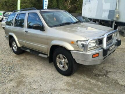 1995 Nissan Pathfinder ST (4x4) Gold 4 Speed Automatic 4x4 Wagon Jewells Lake Macquarie Area Preview