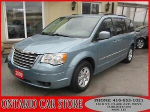 2009 Chrysler Town and Country Touring LEATHER DUAL DVD'S