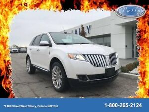 2015 Lincoln MKX Moonroof, Navigation, One Owner!!