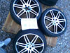 Audi RS4 style 18 inch alloys VW golf mk4 Dunlop Winter sport 3D tyres Rochdale