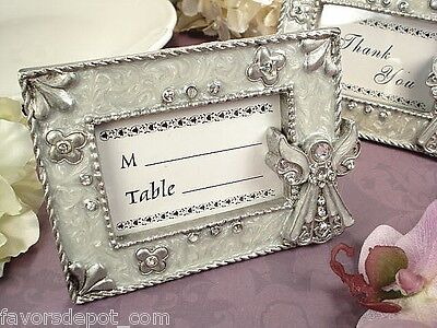 15 Angel Place card Frames Communion Wedding Baptismal Christening Favor