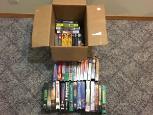 Assortment of VHS tapes - I know there are collectors out there