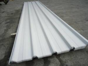 ROOFING IRON TRIMDEK CORAL WHITE @ 2.4 MTR LENGTHS Jimboomba Logan Area Preview
