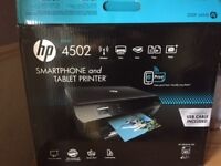 HP 4502 Smartphone and Tablet Printer - Brand New, Never Used, Still in Box.