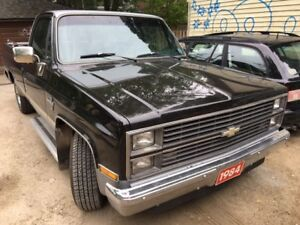 ++ PAYMENT PLAN IF NEEDED ++ 84 CHEV ONE OWNER 70300 ORIG KM