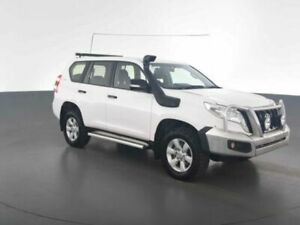 2015 Toyota Landcruiser Prado GDJ150R MY16 GX (4x4) Glacier White 6 Speed Automatic Wagon