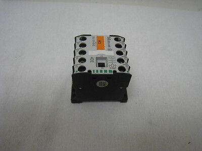 Moeller DIL ER-40-G DIN rail mount motor contactor 40E, 24VDC, 3 ph