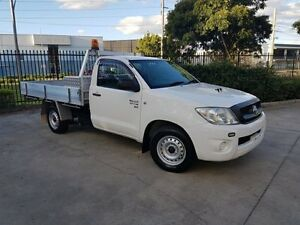 2011 Toyota Hilux KUN16R MY11 Upgrade SR White 5 Speed Manual Moorebank Liverpool Area Preview