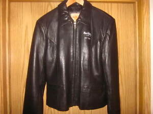 Hard Rock Cafe Leather Jacket