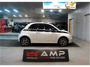 2012 FIAT 500 Super Sport  PRIMA EDIZIONE Manual Leather Skyroof