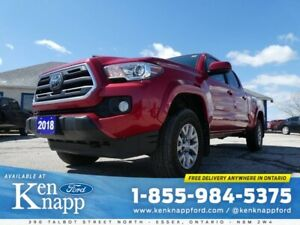 2018 Toyota Tacoma SR5 LANE KEEP ASSIST- ONLY 21,969 KM- 36 DAY