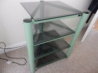 Soundstyle green audio furniture hifi unit