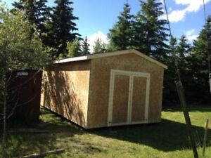 12x20 super sheds/ mini garages on sale