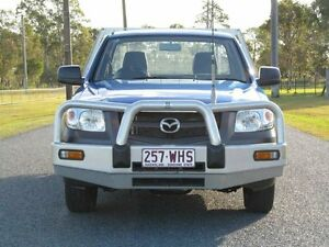 2009 Mazda BT-50 UNY0W4 DX Blue 5 Speed Manual Cab Chassis Stapylton Gold Coast North Preview